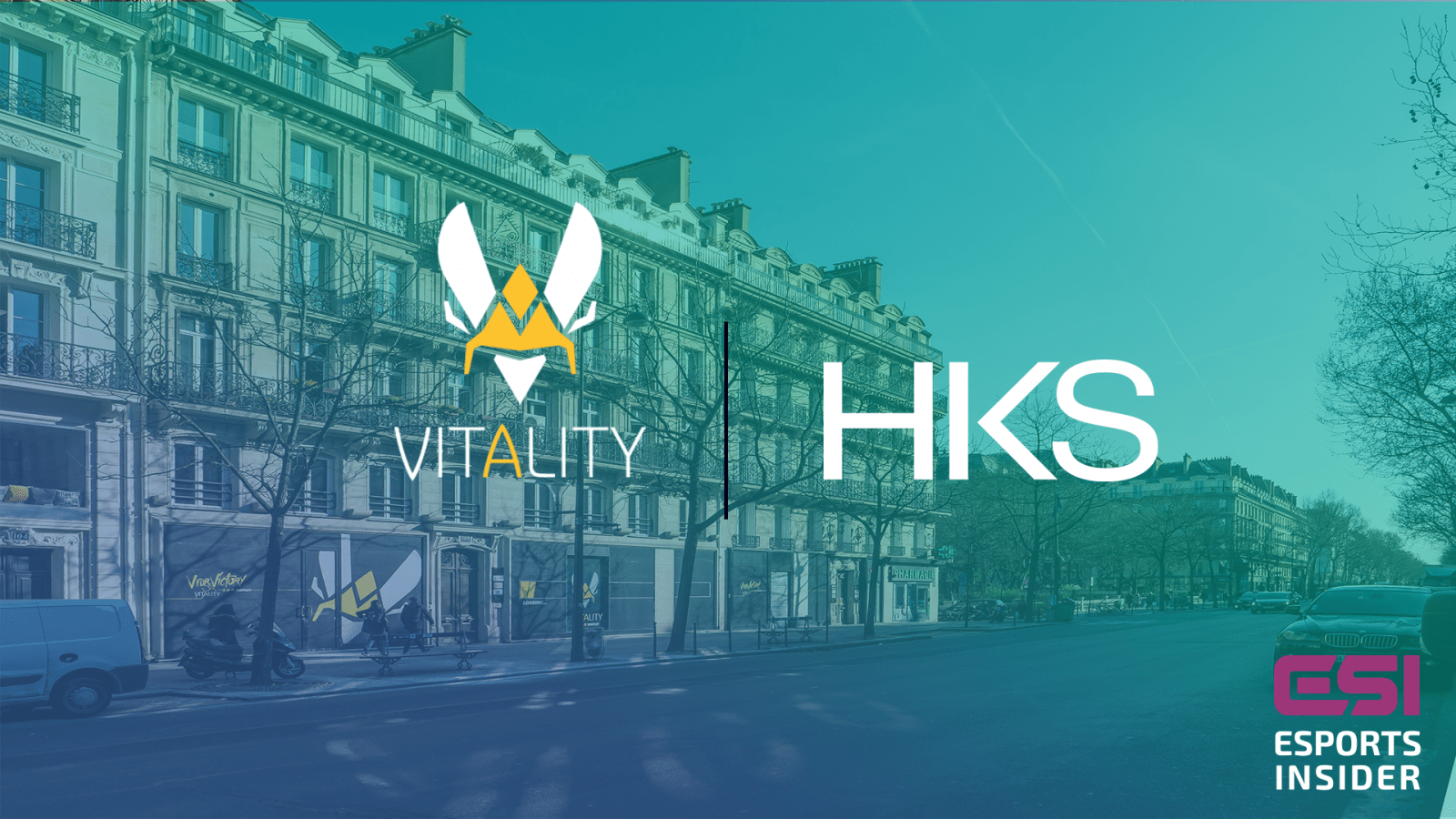 Team Vitality partners with HKS for new Paris HQ