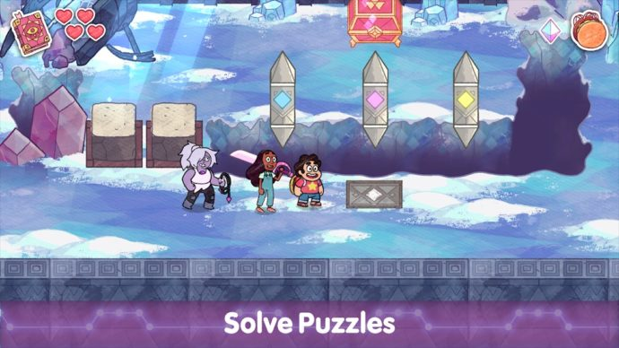 Phantom Fable unites Steven Universe and Connie as they rescue Crystal Gems from an ancient book