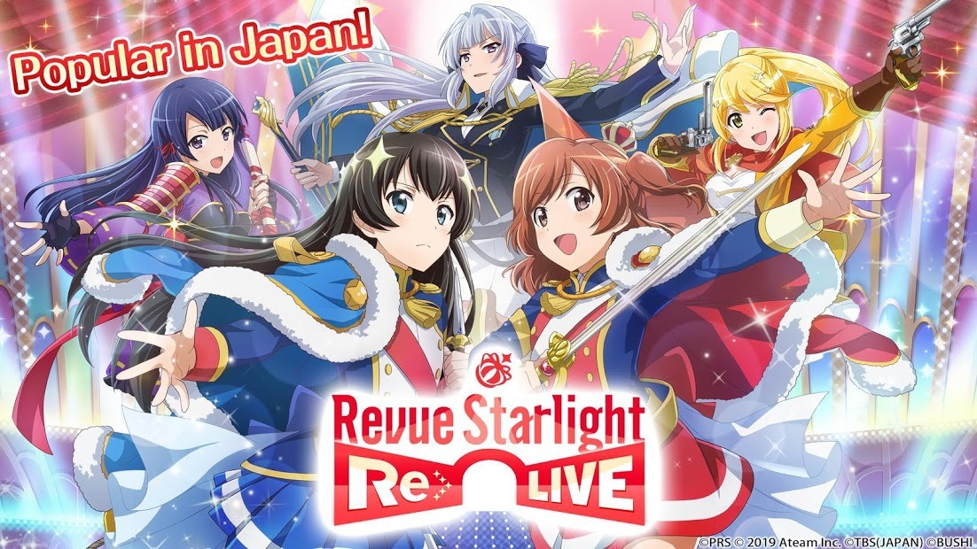 Revue Starlight Re LIVE, the gacha RPG based on the anime series, is out right now on Android