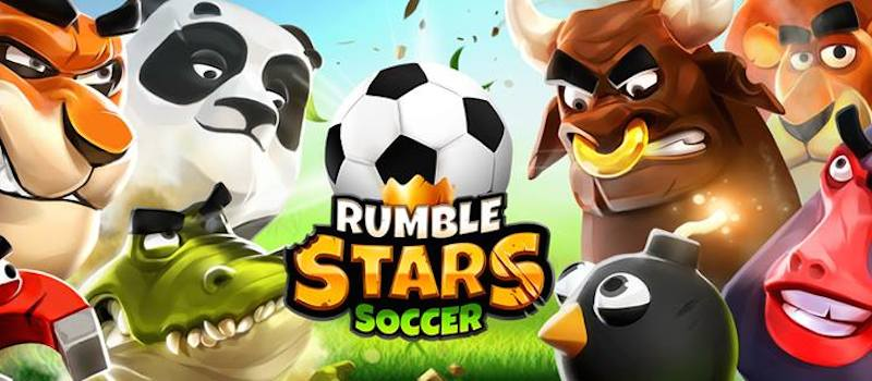 Rumble Stars is a silly physics soccer game by the makers of Badland