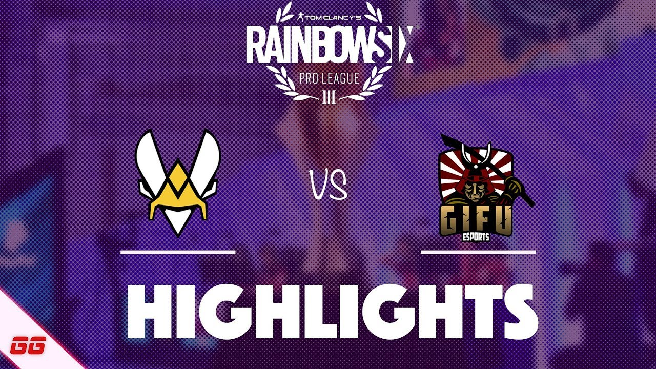 Team Vitality vs GiFu Esports | R6 Pro League S10 Highlights