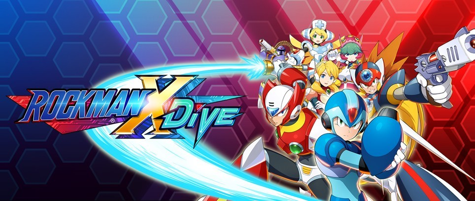 Mega Man X Dive is Coming Soon