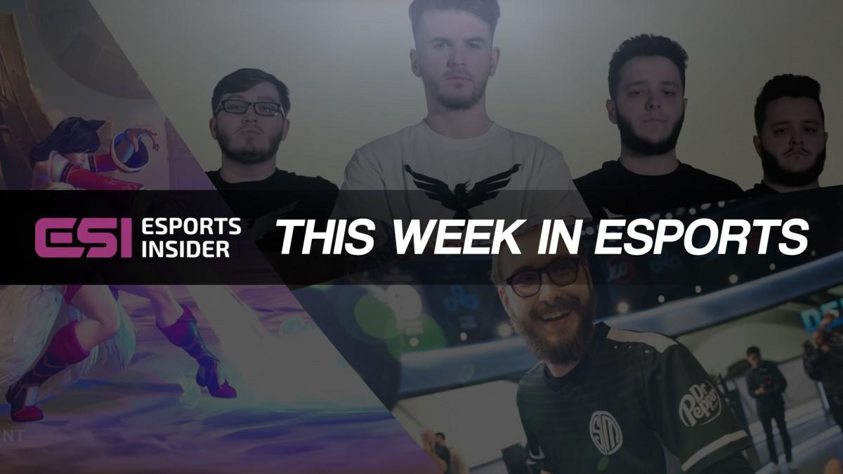 This week in esports: Axe, Bjersen, Riot Games, London Royal Ravens