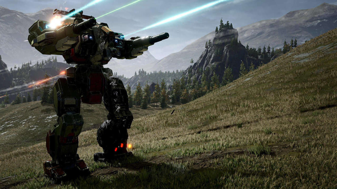 MechWarrior 5: Mercenaries Launch Trailer Showcases Plenty of Mech On Mech Action