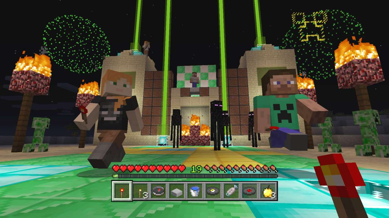 Minecraft PS4 Update Adds Cross-Play With Xbox One, Switch, And More