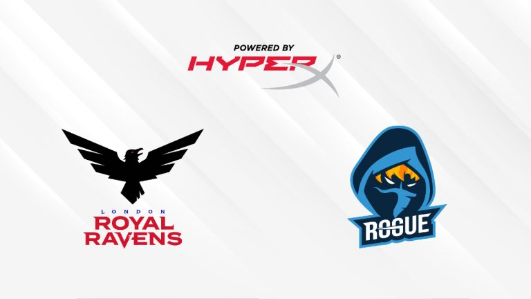London Royal Ravens and Rogue partner with HyperX