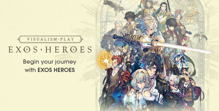 Exos Heroes is a Gorgeous Gacha RPG with a Massive Following, Out Now