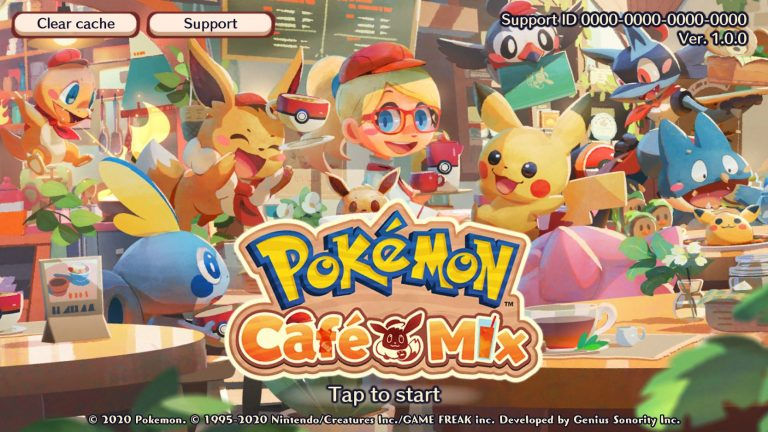 First Major Pokemon Cafe Mix Update Adds New Stages and Pokemon