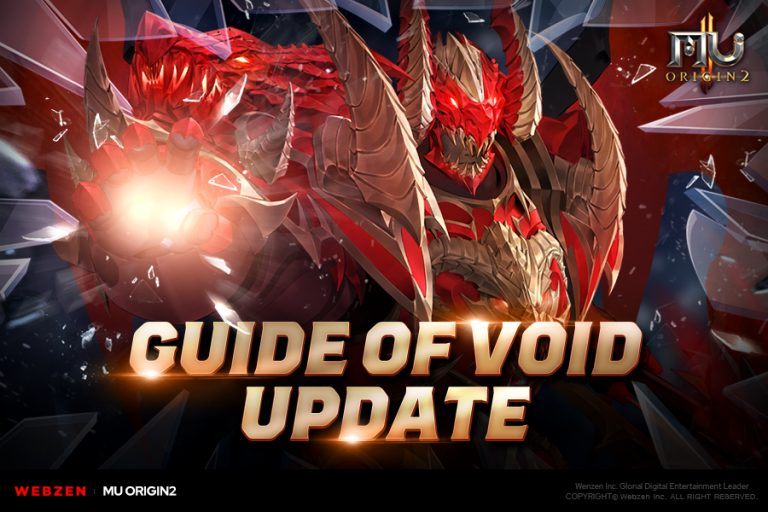 MU Origin 2's 4.1.0 Update Adds Guide of Void System, Elemental Weapons, and More