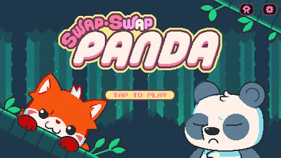 Swap-Swap Panda is a Pixelart Platformer from Neutronized, Out Now on Android