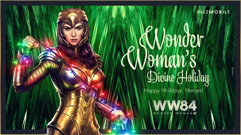 1984 Golden Armor Version of Wonder Woman Comes to Injustice 2 Mobile